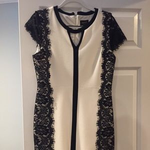 Laundry by Shelli Segal Dresses & Skirts - Beautiful black and white dress