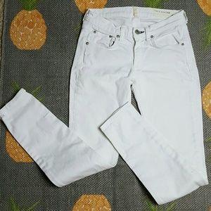 rag & bone Pants - Rag & Bone White Skinny Jeans 25