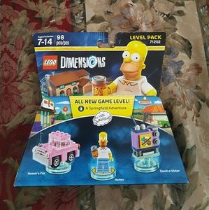 Lego Other - The Simpsons