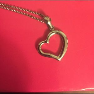 Steel by Design Jewelry - Stainless Steel Heart Charm on chain