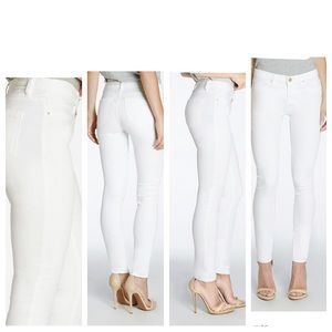 Blank NYC Denim - Blank NYC white stretch skinny jeans 28