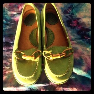 Born Shoes - Green Born loafers