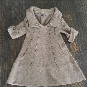 Chaudry Dresses & Skirts - Chaudry Women's Short Sleeve Sweater Dress