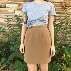 Vintage Dresses & Skirts - Vintage Camel Skirt