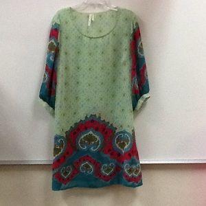 Hello MIZ Dresses & Skirts - Hello Miss Dress Mini Dress Tunic Top Sheer .Sz M