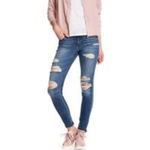 Joe's Jeans Denim - Joe's Skinny Ankle Jeans Destructed Kency