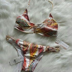 Pilyq Other - PilyQ Summer Patara Braided Zen bikini NWT