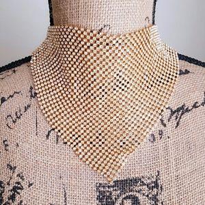 Jewelry - New Gold Rhinestone Choker