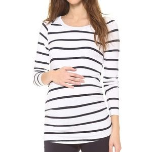 Rosie Pope Tops - Maternity Rosie Pope striped shirt size L