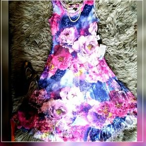 Komarov Dresses & Skirts - Komarow Spring Long Sheer Dress