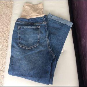 Old Navy Pants - Old navy denim maternity Capris pants
