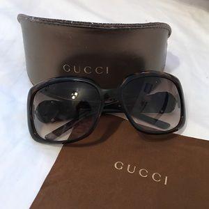 """GUCCI """"HAVANA"""" Sunglasses in MINT condition!"""