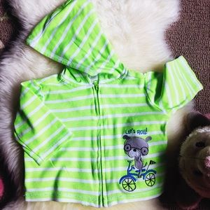 First Impressions Other - Awesome neutral baby zip up light hoodie