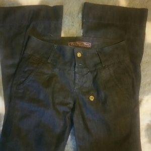 Divine Rights of Denim Denim - NWOT dark trouser style jeans **see pics**