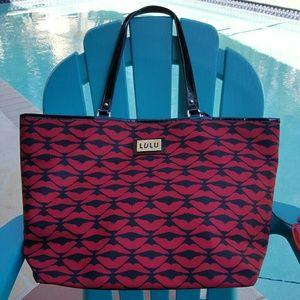 Lulu Handbags - LIPS by Lulu Guinness large tote