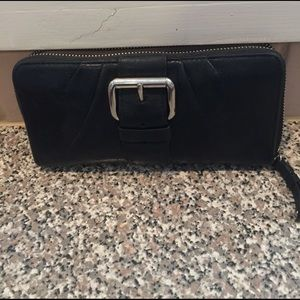 Real leather coach wallet