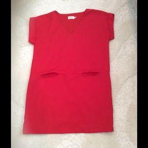 Eliza J Dresses & Skirts - Red Shift Dress