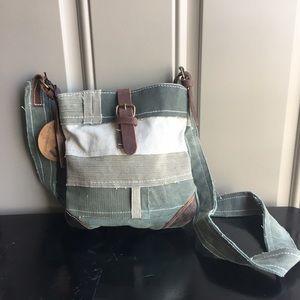 uchi Handbags - 🆕 Sale!Akeno Small canvas cross body bag LAST ONE