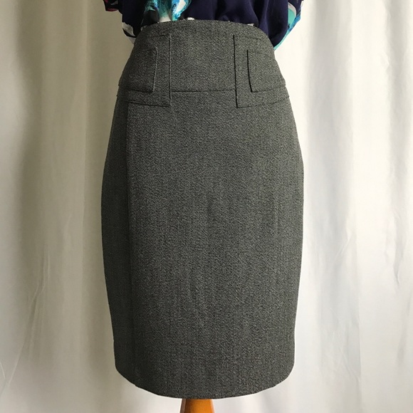 Express Jackets & Coats - Express charcoal gray blazer skirt suit size 2