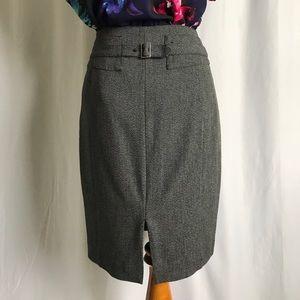Express Jackets & Coats - Express charcoal gray blazer skirt suit size 2