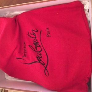Christian Louboutin Shoes - Lady Daf 160 Tartan red plaid