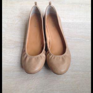 a.n.a Shoes - Tan  color ballet flats