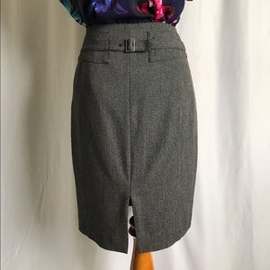 Express Skirts - Express dark charcoal gray suit skirt size 00