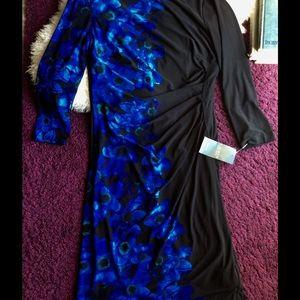 Lauren Ralph Lauren Dresses & Skirts - NWT Ralph Lauren 3/4 sleeve floral ruche flatter