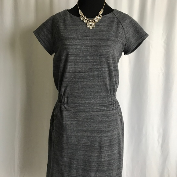GAP Dresses & Skirts - Gap dark grey charcoal cap sleeve summer dress S