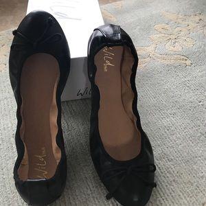 Wild Pair Shoes - Black flats new