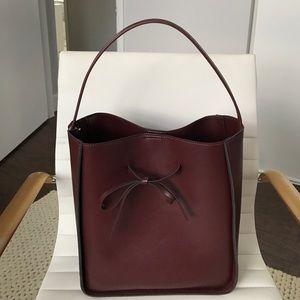 Sole Society Handbags - Sole Society Bucket Bag w/ Tie
