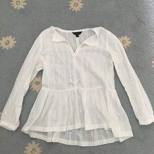 J. Crew peplum blouse