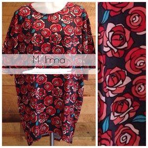 NWT Disney Roses Unicorn LLR LuLaRoe Irma
