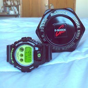 G-Shock Accessories - Green & Black G-Shock Watch