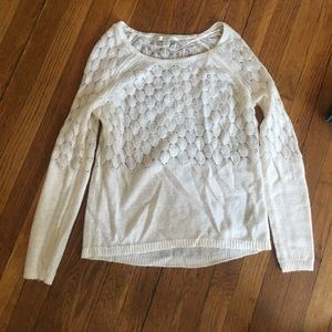 Lauren Conrad White Sweater