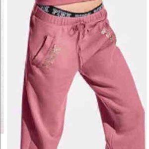 PINK Victoria's Secret Pants - ❤️Pink boyfriend Sweat Pants ❤️