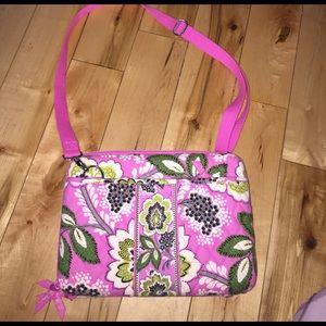 LIKE NEW! Vera Bradley small laptop case