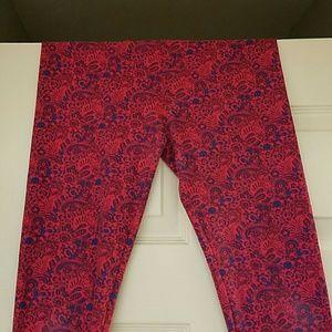 Paisley lularoe leggings