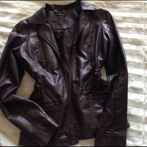 Jou Jou Other - Leather jacket ... used. Excellent condition.