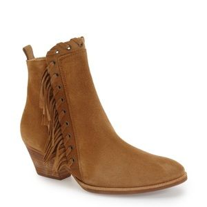 Paul Green Shoes - Paul Green suede ankle booties NWOT