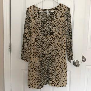J. Crew Dresses & Skirts - Leopard print Jules shift dress