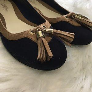 Lela Rose Shoes - Lela Rose Size 7.5 Tassle Flats