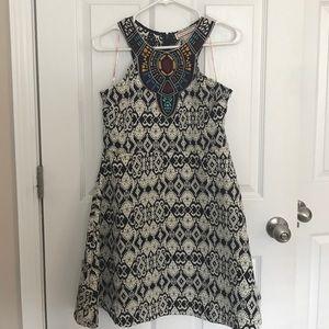 Flying Tomato Dresses & Skirts - Geometric halter Dress