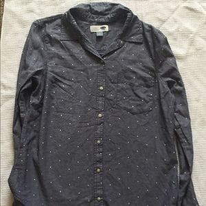 Old Navy Polka Dot Button Down