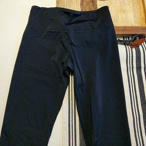 Onzie Pants - Onzie Black Capri Cropped Tights Athletic Yoga