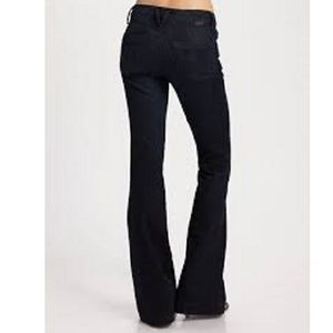 Goldsign Denim - GOLDSIGN Mid Rise ELAN Stretch FLARE Jeans 29 x 32