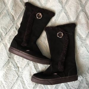 Vans Shoes - VANS Black Winter Boots