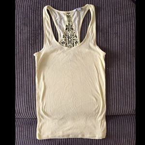 American Eagle Outfitters Tops - American Eagle laceback tank!