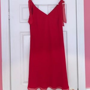 Evan Picone red dress size 12
