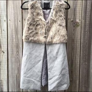 New Look Jackets & Blazers - Faux Fur Vest